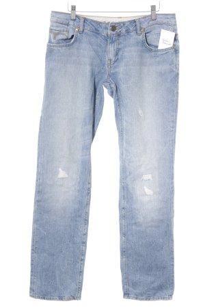 Mavi Straight-Leg Jeans himmelblau Casual-Look
