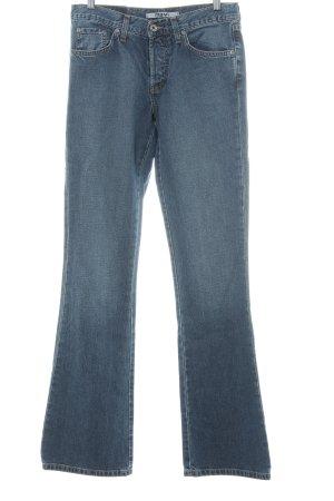Mavi Straight-Leg Jeans kornblumenblau Casual-Look