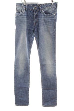 Mavi Straight-Leg Jeans mehrfarbig schlichter Stil