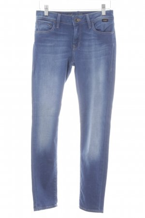 Mavi Stretch Jeans blau Farbverlauf Casual-Look