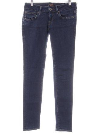 Mavi Stretch Jeans dunkelblau Casual-Look