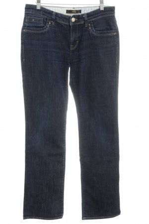 Mavi Stretch Jeans dunkelblau Casual-Look