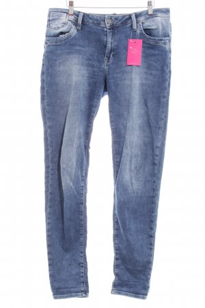 Mavi Stretch Jeans stahlblau Washed-Optik