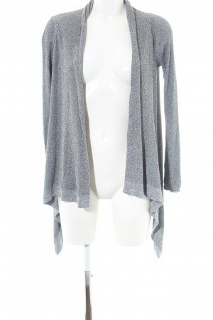 Mavi Knitted Wrap Cardigan light grey flecked casual look
