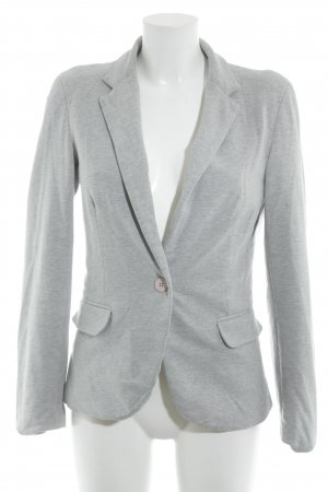 Mavi Sweatblazer hellgrau Casual-Look