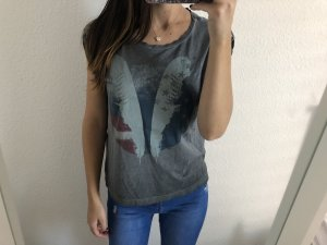 Mavi T-Shirt neu used Look grau
