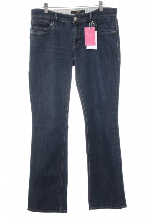 mavi UPTOWN Boot Cut Jeans blau Casual-Look