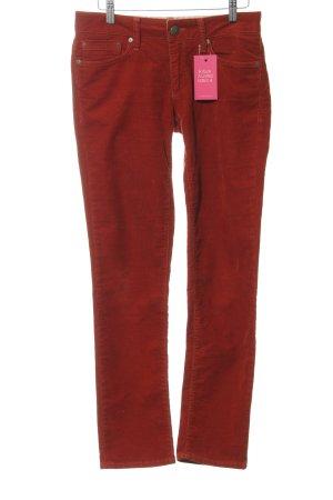 mavi UPTOWN Corduroy Trousers russet casual look