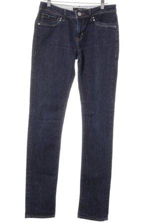 mavi UPTOWN Skinny Jeans blau-dunkelblau Casual-Look