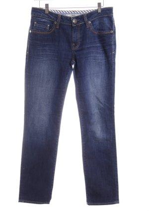 mavi UPTOWN Slim Jeans dunkelblau Casual-Look