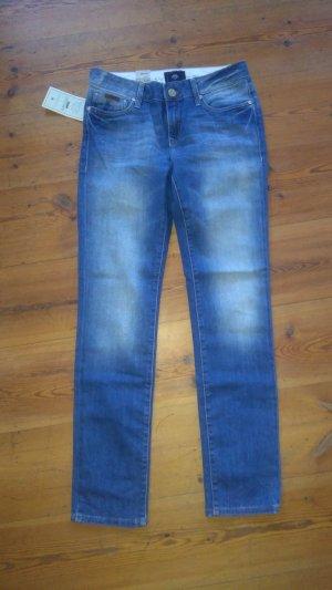 Mavi Skinny jeans blauw
