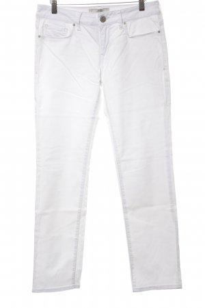 mavi UPTOWN Straight-Leg Jeans weiß Casual-Look