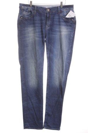 mavi UPTOWN Straight-Leg Jeans blau klassischer Stil