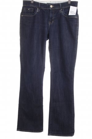 mavi UPTOWN Straight-Leg Jeans dunkelblau schlichter Stil