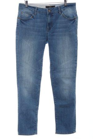 mavi UPTOWN Straight-Leg Jeans stahlblau Casual-Look