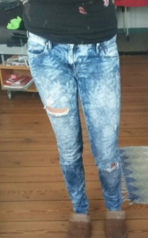 Mavi used look Jeans mit Blattprint