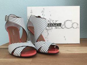 Max & Co. Sandalias con plataforma multicolor Cuero