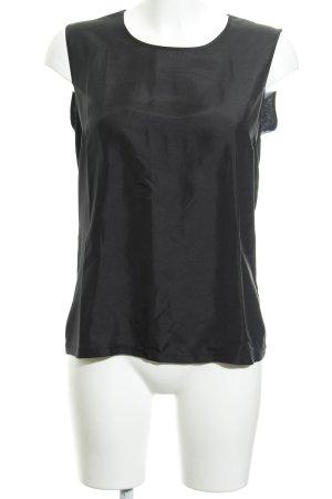 Max & Co. ärmellose Bluse schwarz Casual-Look