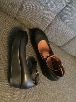 Max&Co Ballerinas Leder schwarz Größe 40