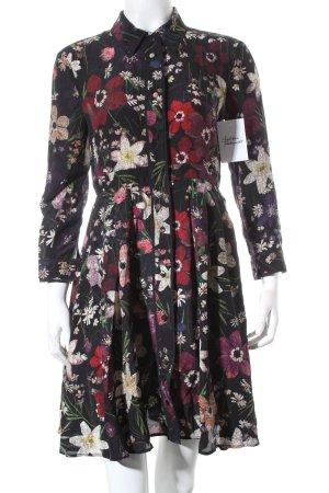 Max & Co. Blusenkleid Blumenmuster klassischer Stil