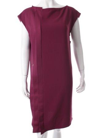 Max & Co. Blusenkleid purpur Zierknöpfe