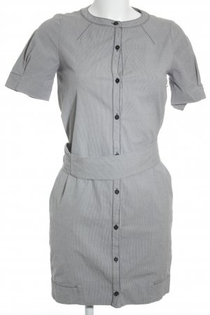 Max & Co. Blusenkleid weiß-stahlblau Streifenmuster Casual-Look