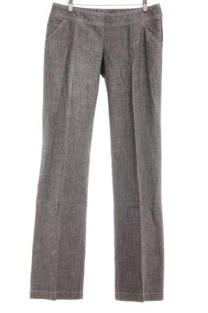 Max & Co. Pantalon à pinces gris moucheté style d'affaires