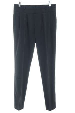 Max & Co. Bundfaltenhose schwarz Business-Look