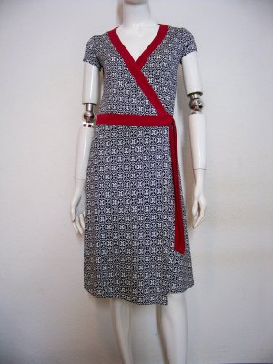 Max & Co. by Max Mara feminines Kleid Wickelkleid Jersey Seide