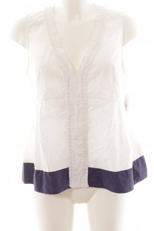 Max & Co. Camisola blanco-azul oscuro look casual
