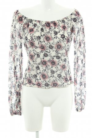 Max & Co. Carmen-Bluse florales Muster Romantik-Look