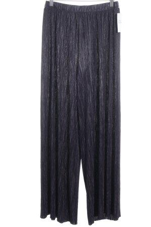 Max & Co. Falda pantalón de pernera ancha azul oscuro