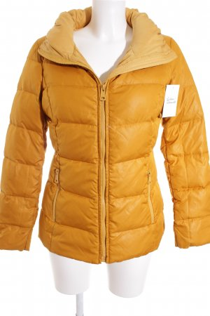 Max & Co. Down Jacket dark yellow classic style
