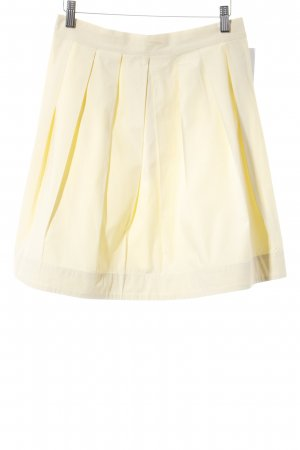 Max & Co. Plaid Skirt yellow classic style
