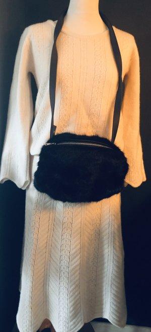 Max & Co. Falda de punto blanco puro