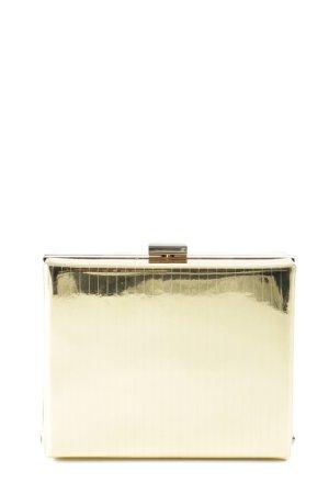 Max & Co. Handtasche goldfarben extravaganter Stil