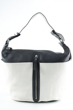 Max & Co. Handtasche schwarz-creme Casual-Look