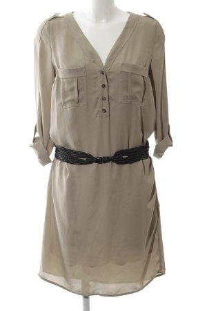 Max & Co. Abito blusa camicia marrone stile casual