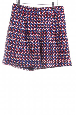 Max & Co. High-Waist-Shorts Karomuster Street-Fashion-Look