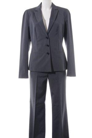 Max & Co. Hosenanzug graublau-grau meliert Business-Look