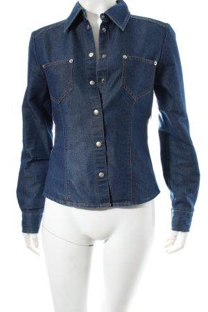 Max & Co. Jeansbluse dunkelblau