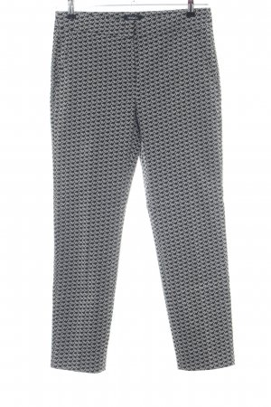 Max & Co. Peg Top Trousers black-white allover print business style