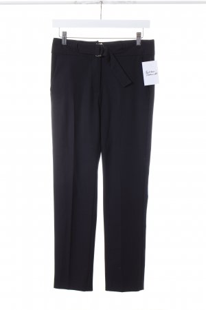 Max & Co. Pantalone peg-top nero stile professionale