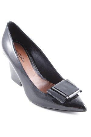 Max & Co. Keil-Pumps schwarz Elegant