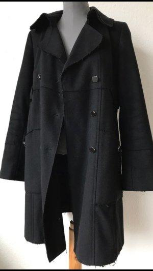 Max & Co. Klassiker mit twist Woll Mantel tailliert schwarz 36