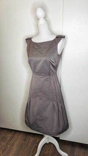 Max&Co. Kleid 34 braun tailliert Business Büro