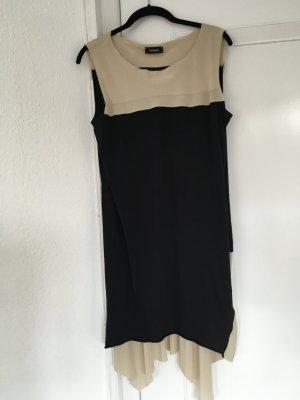 Max & Co* Kleid*NEU*Zwanziger Jahre Look* Beige Marineblau* Zart fallend* Gr.L