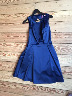 Max & CO Kleid Satinblau