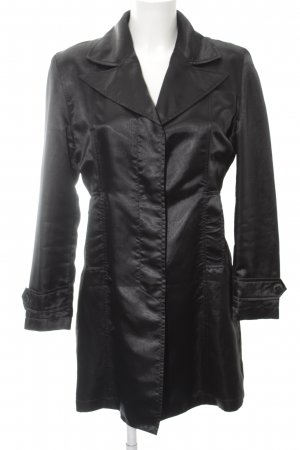 Max & Co. Abrigo corto negro look casual