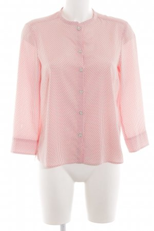 Max & Co. Langarm-Bluse pink Allover-Druck Business-Look